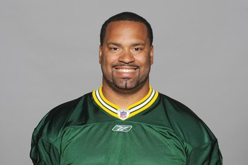 GREEN BAY, WI - 2009:  Cullen Jenkins of the Green Bay Packers poses for his 2009 NFL headshot at photo day in Green Bay, Wisconsin.  (Photo by NFL Photos)