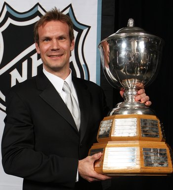 Lidstrom has 6 Norris Trophy Wins as the NHL's best defenseman.