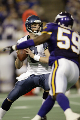 Could Matt be trading Seahawk Blue for Viking Purple?  Not likely...