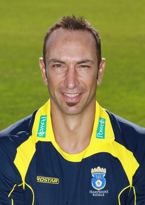 SOUTHAMPTON, ENGLAND - APRIL 06:  Nic Pothas of Hampshire CCC poses for a portrait at The Rose Bowl on April 6, 2011 in Southampton, England.  (Photo by Warren Little/Getty Images)