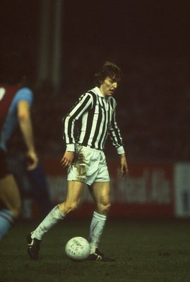 2 Mar 1983:  Zbigniew Boniek of Juventus in action during a match. \ Mandatory Credit: David  Cannon/Allsport