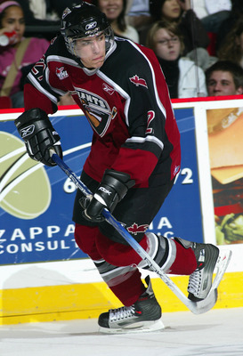 Milan Lucic in his WHL days