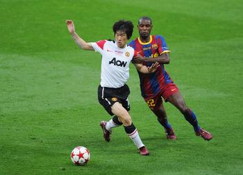 Park Ji-Sung, left