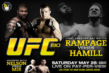 UFC 130 MGM Grand Garden Arena