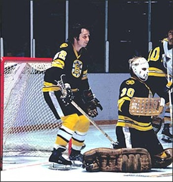 Brad Park appeared in the Stanley Cup plaoffs often and made great contributions although he never hoisted the cup