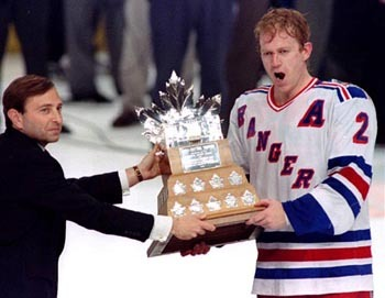 Brian Leetch won the Conn Smythe Trophy in 1994 leading the Rangers to the Stanley Cup.
