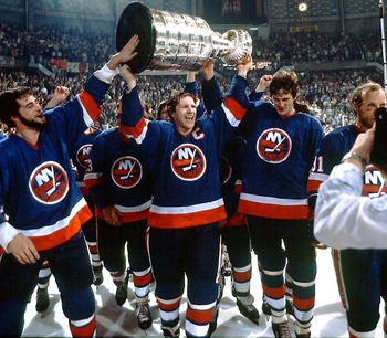 Denis Potvin led the Islanders to several play7off victories and several Stanley Cups