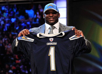 Corey Liuget is likely to be the starter at nose tackle for the Chargers in 2011.