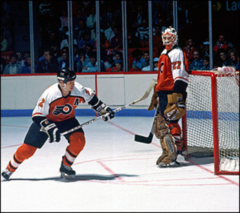Mark Howe was a smooth puckmoving defensemen for the Flyers.