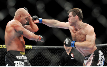 Forrest Griffin in His Win Over Tito Ortiz