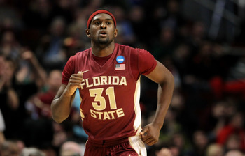 CHICAGO, IL - MARCH 18:  Chris Singleton #31 of the Florida State Seminoles jogs down court in the second half of the game against the Texas A&M Aggies during the second round of the 2011 NCAA men's basketball tournament at the United Center on March 18,
