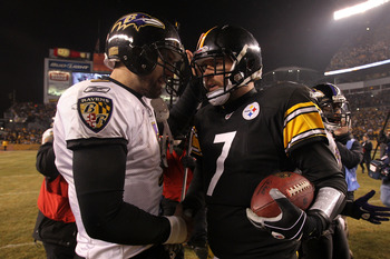 QBs Joe Flacco and Ben Roethlisberger