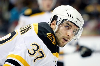 Patrice Bergeron has done it all for Boston in the 2011 Stanley Cup Playoffs