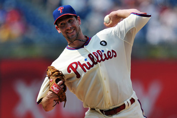 PHILADELPHIA, PA - MAY 26: Starting pitcher Cliff Lee #33 of the Philadelphia Phillies delivers a pitch during the game against the Cincinnati Reds at Citizens Bank Park on May 26, 2011 in Philadelphia, Pennsylvania. (Photo by Drew Hallowell/Getty Images)
