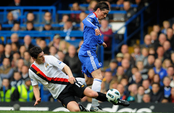 Gareth Barry Stealing The Ball From Fernando Torres