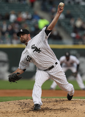 CHICAGO, IL - MAY 17: Starting pitcher John Danks #50 of the Chicago White Sox delivers the ball against the Texas Rangers at U.S. Cellular Field on May 17, 2011 in Chicago, Illinois. (Photo by Jonathan Daniel/Getty Images)
