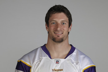 EDEN PRAIRIE, MN - CIRCA 2010:  In this handout image provided by the NFL,  Brian Robison poses for his 2010 NFL headshot circa 2010 in Eden Prairie, Minnesota.   (Photo by NFL via Getty Images)