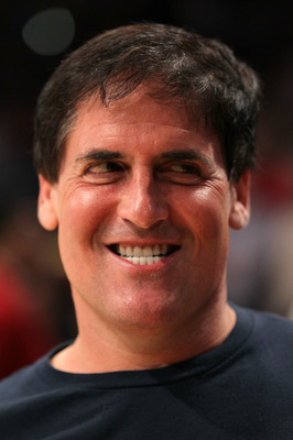 LOS ANGELES, CA - MAY 04:  Owner Mark Cuban of the Dallas Mavericks reacts before taking on the Los Angeles Lakers in Game Two of the Western Conference Semifinals in the 2011 NBA Playoffs at Staples Center on May 4, 2011 in Los Angeles, California. NOTE