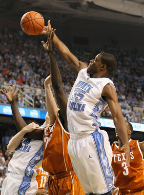 GREENSBORO, NC - DECEMBER 18:  Reggie Bullock #35 of the North Carolina Tar Heels against the Texas Longhorns at Greensboro Coliseum on December 18, 2010 in Greensboro, North Carolina.  (Photo by Kevin C. Cox/Getty Images)