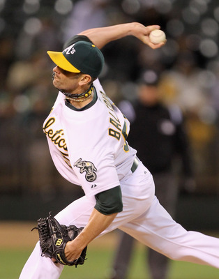 OAKLAND, CA - MAY 18:  Grant Balfour #50 of the Oakland Athletics pitches against the Minnesota Twins at Oakland-Alameda County Coliseum on May 18, 2011 in Oakland, California. Balfour is from Sydney, Australia.  (Photo by Ezra Shaw/Getty Images)