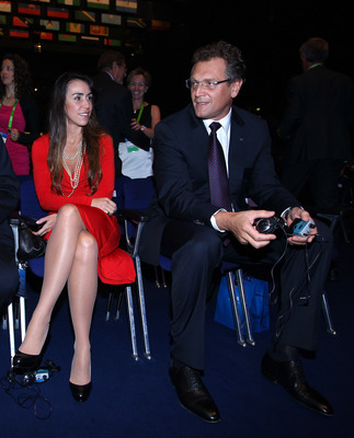 ZURICH, SWITZERLAND - MAY 31:  Jerome Valcke, Secretary General of FIFA takes his seat before the 61st FIFA Congress Opening Ceremony at Hallenstadion on May 31, 2011 in Zurich, Switzerland.  (Photo by Julian Finney/Getty Images)