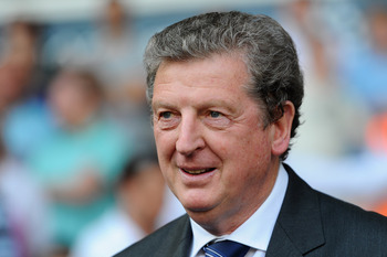 LONDON, ENGLAND - APRIL 23:  Roy Hodgson, Manager of West Brom looks on during the Barclays Premier League match between Tottenham Hotspur and West Bromwich Albion at White Hart Lane on April 23, 2011 in London, England.  (Photo by Mike Hewitt/Getty Image