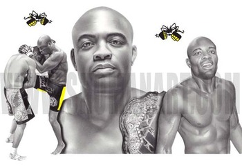 "The immortal one, Anderson ""The Spider"" Silva"