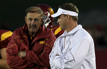 USC Coaches Monte and Lane Kiffin