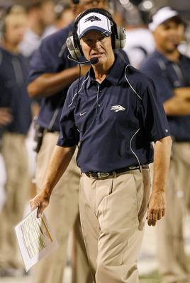 Nevada head coach Chris Ault