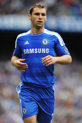 LONDON, ENGLAND - MAY 15:  Branislav Ivanovic of Chelsea in action during the Barclays Premier League match between Chelsea and Newcastle United at Stamford Bridge on May 15, 2011 in London, England.  (Photo by Michael Regan/Getty Images)