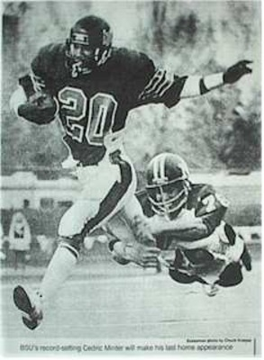 Cedric minter a native of boise played for the broncos from 1977