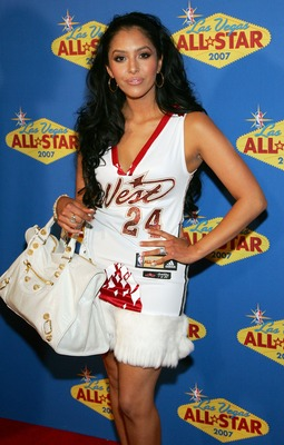 LAS VEGAS - FEBRUARY 18:  Vanessa Bryant arrives at the 2007 NBA All-Star Game at the Thomas &amp; Mack Center on February 18, 2007 in Las Vegas, Nevada.  (Photo by Ethan Miller/Getty Images)