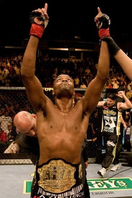 Anderson Silva is the champ, and for good reason