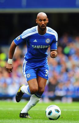 LONDON, ENGLAND - MAY 15:  Nicolas Anelka of Chelsea in action during the Barclays Premier League match between Chelsea and Newcastle United at Stamford Bridge on May 15, 2011 in London, England.  (Photo by Mike Hewitt/Getty Images)
