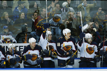 The Atlanta Thrashers in happier times.