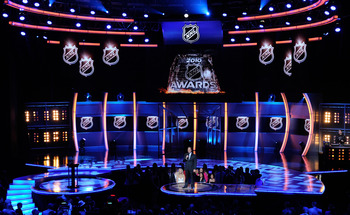 The NHL Awards Ceremony will be done with glitz appropriate to the host city, Las Vegas