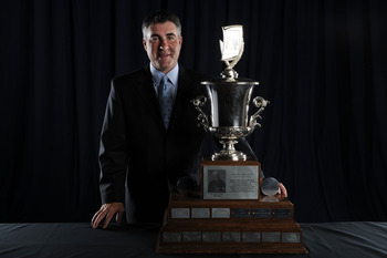 Dave Tippett rightfully won this award in 2010 over perennial contenders Lindy Ruff and Barry Trotz