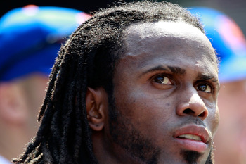 NEW YORK, NY - MAY 29:  Jose Reyes #7 of the New York Mets looks on from the dugout during the game against the Philadelphia Phillies at Citi Field on May 29, 2011 in the Flushing neighborhood of the Queens borough of New York City.  (Photo by Chris Trotm