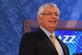 David Stern will be shaking a lot of future NBA stars hands on draft night.