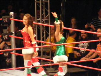 Bella_twins_-_santas_little_helper_match_display_image