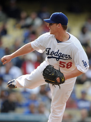 LOS ANGELES, CA - MAY 14:  Chad Billingsley #58 of the Los Angeles Dodgers pitches against the Arizona Diamondbacks at Dodger Stadium on May 14, 2011 in Los Angeles, California.  (Photo by Harry How/Getty Images)