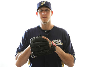MARYVALE, AZ - FEBRUARY 24:  Kameron Loe #50 of the Milwaukee Brewers poses for a portrait during Spring Training Media Day on February 24, 2011 at Maryvale Stadium in Maryvale, Arizona.  (Photo by Jonathan Ferrey/Getty Images)