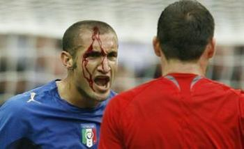 Chiellini.... a beast of a player