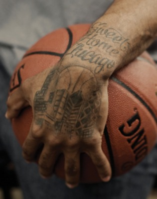 Chicago Bulls Tattoos on Who   Derrick Rose  Chicago Bulls Guard  2010 11 Nba Mvp