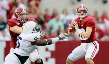 Jones is a force to be reckoned with on the Crimson Tide offensive line.