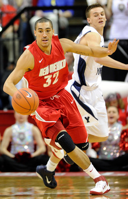 New Mexico forward Drew Gordon