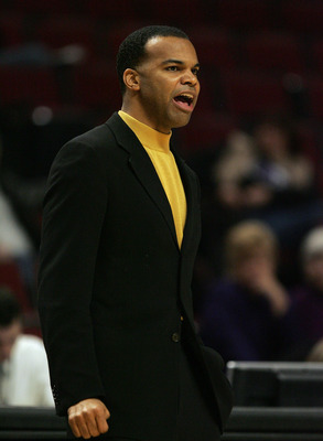Harvard head coach Tommy Amaker