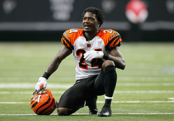 ATLANTA - OCTOBER 24:  Adam Jones #24 of the Cincinnati Bengals against the Atlanta Falcons at Georgia Dome on October 24, 2010 in Atlanta, Georgia.  (Photo by Kevin C. Cox/Getty Images)