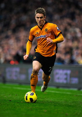 WEST BROMWICH, ENGLAND - FEBRUARY 20:  Kevin Doyle of Wolverhampton Wanderers in action during the Barclays Premier League match between West Bromwich Albion and Wolverhampton Wanderers at The Hawthorns on February 20, 2011 in West Bromwich, England.  (Ph