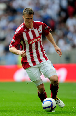 LONDON, ENGLAND - APRIL 17:  Robert Huth of Stoke on the ball during the FA Cup sponsored by E.ON semi final match between Bolton Wanderers and Stoke City at Wembley Stadium on April 17, 2011 in London, England.  (Photo by Jamie McDonald/Getty Images)